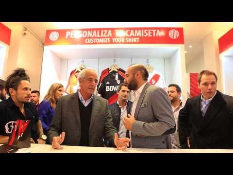 Inauguración de River Plate Store
