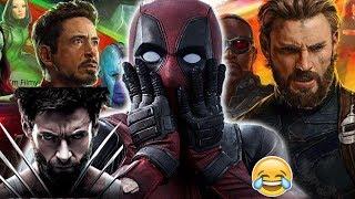 Video Deadpool Makes Fun of Logan and Avengers - Ryan Reynolds Funny - 2017 MP3, 3GP, MP4, WEBM, AVI, FLV Juli 2018