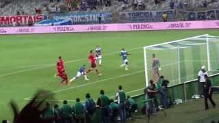 Gol Everton Ribeiro, Cruzeiro x Flamengo no Mineirão 21/08/13 pela Copa do Brasil, Momento inesplicavel, tive a grande chance de registrar um dos gols mais l...