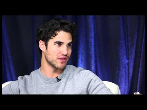 Criss - Broadway.com Audience Choice Award winner Darren Criss stopped by