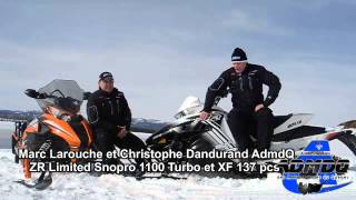 8. Motoneige: Arctic Cat CrossTour 2014