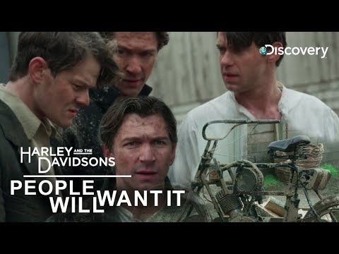 'PEOPLE WILL WANT IT' The Belief - Harley and the Davidsons | Discovery Channel India