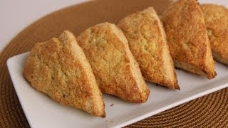 Vanilla Bean Scones Recipe - Laura Vitale - Laura In The Kitchen Episode 538