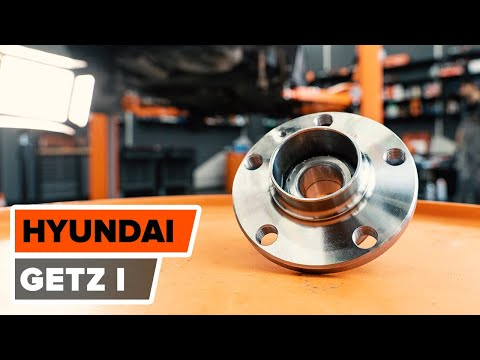 How to replace rear wheel bearing on HYUNDAI GETZ 1 TUTORIAL | AUTODOC