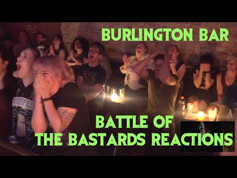 GAME OF THRONES Reactions at Burlington Bar /// Battle of the Bastards Pt 2  \\\