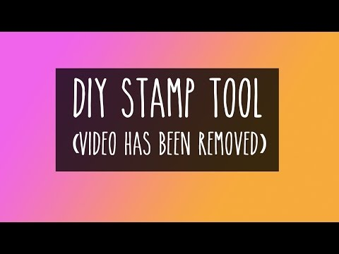 DIY Stamp Positioning Tool