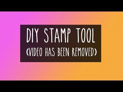 DIY Stamp Positioning Tool