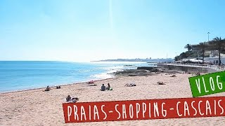 Estoril Portugal  city photo : VLOG: Praias de Estoril - Passeio no shopping - Mostrando Cascais - Portugal Hoje tô Aqui