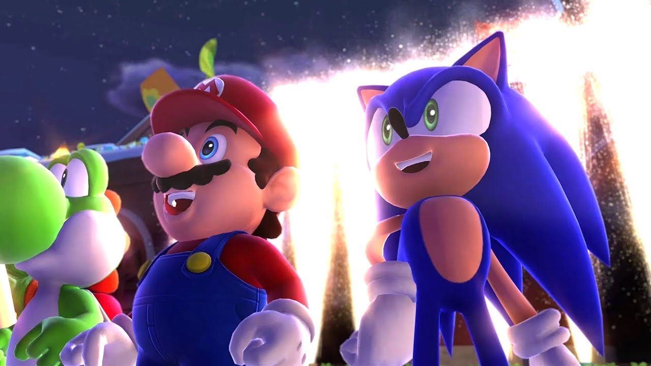 Mario & Sonic at the Sochi 2014 Olympic Winter Games – Playthrough [Part 1 – Leg. Showdown – Area 1]