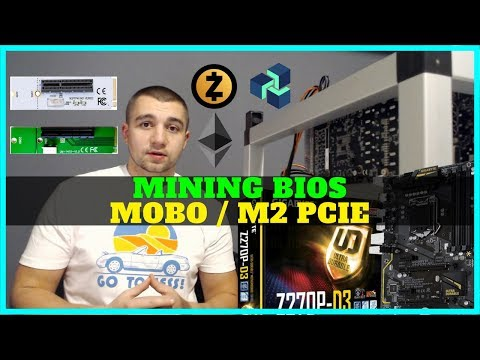 How To Update Motherboard Bios for Mining - M.2 PCIE Adapter Settings - GIGABYTE GA‑Z270P‑D3