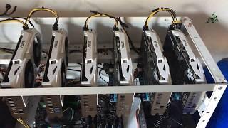 ASUS Mining-P106-6G V2 x 6 mining rig 150Mh/s +