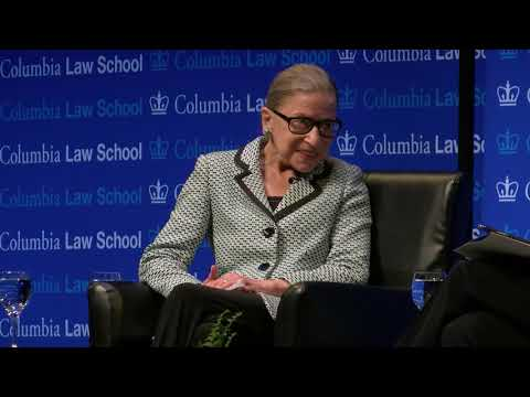 A Conversation with Justice Ruth Bader Ginsburg '59