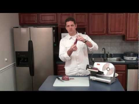 """Making Venison Jerky with the Weston® 7 ½"""" Meat Slicer & 4 Tier Dehydrator"""