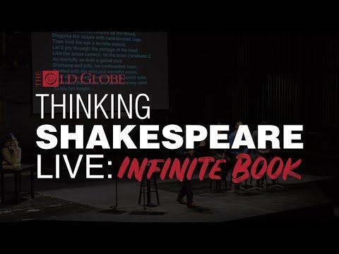 Thinking Shakespeare Live: Infinite Book: Episode 1