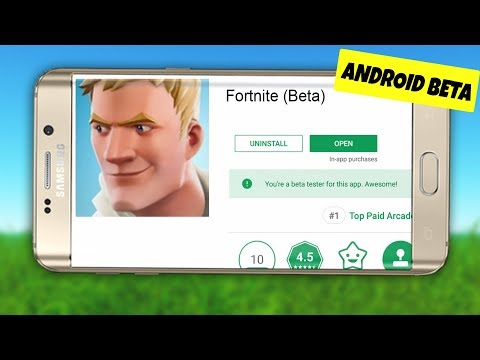 Fortnite Mobile ANDROID BETA DITEMUKAN (Tanggal Pembaruan Android Fortnite Unduh Berita Gameplay)
