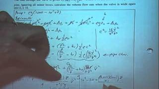 Fluid Machines Example Problem