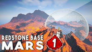 Let's Build: REDSTONE MARS BASE EP1 - Establishing A Colony (Redstone Tutorial Series)