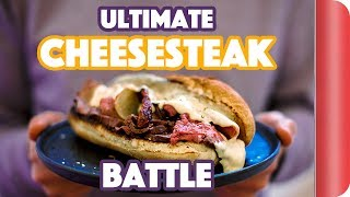 The ULTIMATE CHEESESTEAK BATTLE