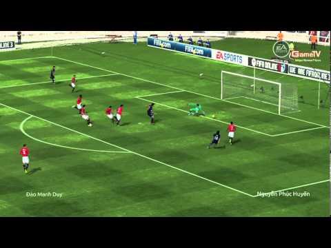 FIFA Online 3: Gắp bóng & Sút