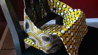 The Anywhere Chair turns a regular chair into a high chair! It rolls up fit in a diaper bag, and is machine washable. Sew a portable...