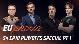 SPY, S04, RGE & VIT | EUphoria Season 4 Episode 10 (Playoffs Special Part 1) by League of Legends Esports