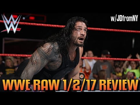 Wwe Raw 1/2/17 Review, Results & Reactions: Goldberg Stares Down Roman Reigns & No One Is Excited