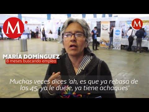Tener 50 años, un obstáculo para conseguir trabajo en México