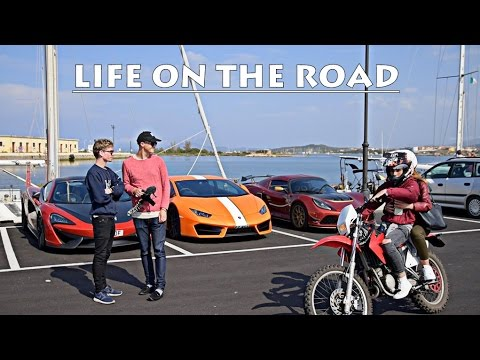 LIFE ON A SUPERCAR ROADTRIP: PRANK & CHALLENGE!!