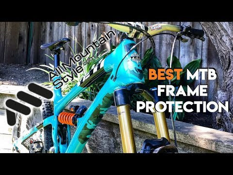 All Mountain Style Frame Guard Overview & GIVEAWAY!!! (видео)
