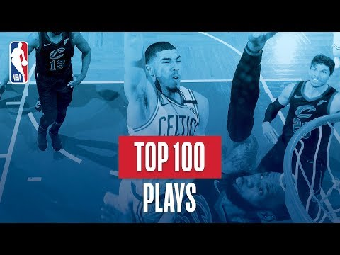 Top 100 Plays: 2018 NBA Season (видео)