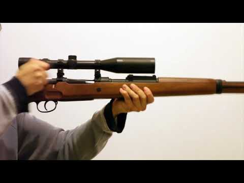 Dboy Mauser Kar98k with Sniper Scope (Karabiner 98k)