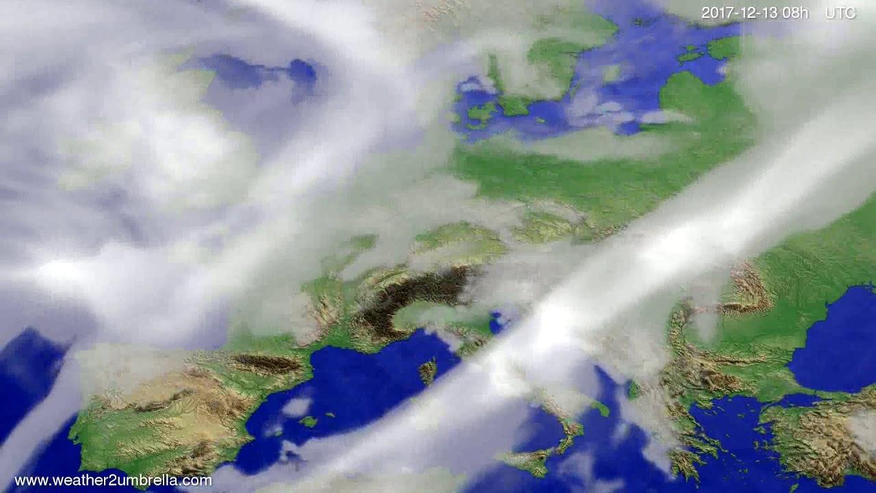Cloud forecast Europe 2017-12-10