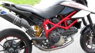 8. 2011 Ducati Hypermotard 1100 EVO SP SOLD 1455 miles