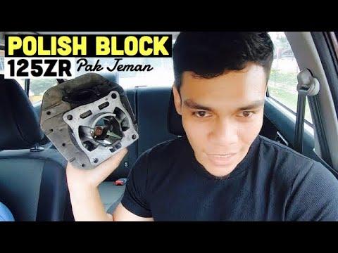 Polishing Block 125zr PakJeman : Jem Panas ikut SBK