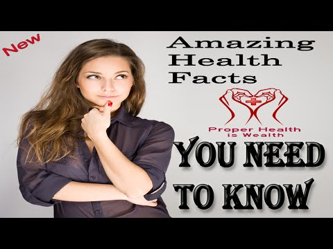 Amazing Health Facts about the human body