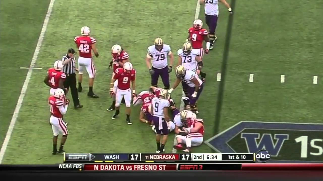 Jared Crick vs Washington 2011