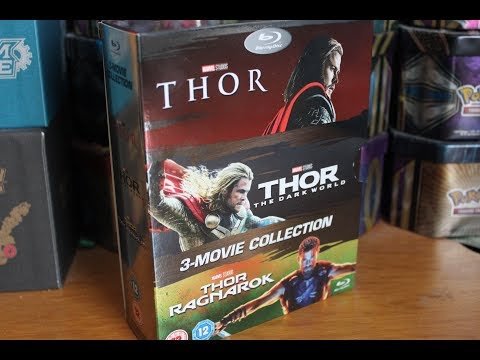 Thor 1-3 Movie Collection Blu-ray
