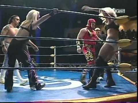 AAA: Jennifer Blade, Octagoncito, Rocky Romero vs. Sexy Star, Decnnis, Mini Abismo Negro, 2009/10/24