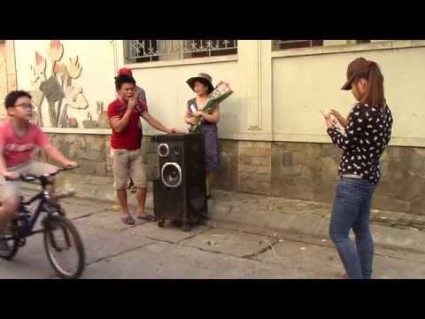 Về đâu mái tóc người thương - hát rong 2015