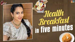Healthy Breakfast in 5 minutes || Tasty Breakfast Recipe || MB Probiotic Muesli ||