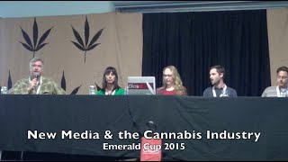 NEW MEDIA & CANNABIS | panel at 2015 The Emerald Cup | CoralReefer by Coral Reefer