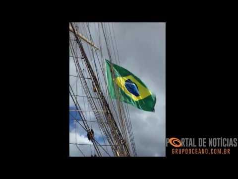 Navio Veleiro Cisne Branco em Rio Grande