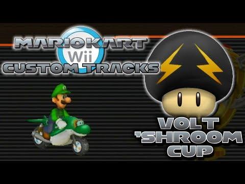 Mario Kart Wii Custom Tracks - Volt 'Shroom