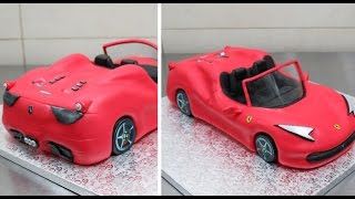 Nonton How To Make a 3D Ferrari Cake by CakesStepbyStep Film Subtitle Indonesia Streaming Movie Download