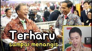 Video Orang Korea Menangis Melihat Persahabatan Presiden Korsel dan  Indonesia MP3, 3GP, MP4, WEBM, AVI, FLV Februari 2019