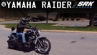 2. Yamaha Raider Test Drive