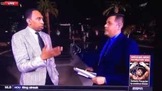 May 2, 2015 ... Stephen A Smith & Robert Flores ESPN go Toe to Toe over ... ESPN pulls nannouncer Robert Lee from game as to not offend people - Duration: ...