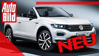 VW T-Roc Cabrio (2020): Neuvorstellung - SUV - Infos by Auto Bild