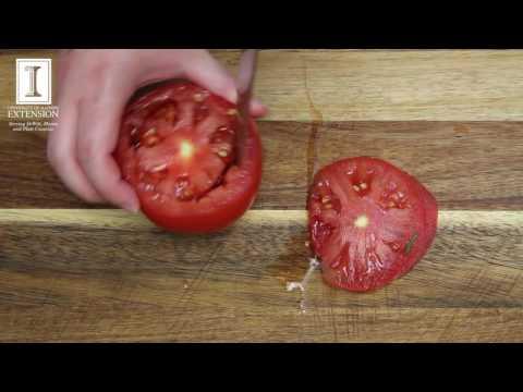 Tuna Stuffed Tomato Melt