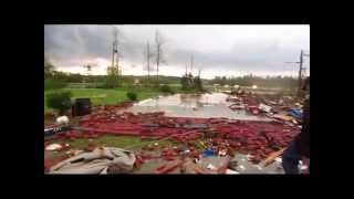 Louisville (MS) United States  city pictures gallery : Immediately after LOUISVILLE MISSISSIPPI TORNADO 4-28-14